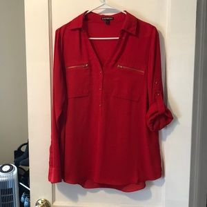 Red and gold express Portofino convertible sleeve